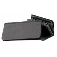 クラフト社 レザークラフト用半製品  カードFWケース 11×21.8×1.5cm 黒 4586-02