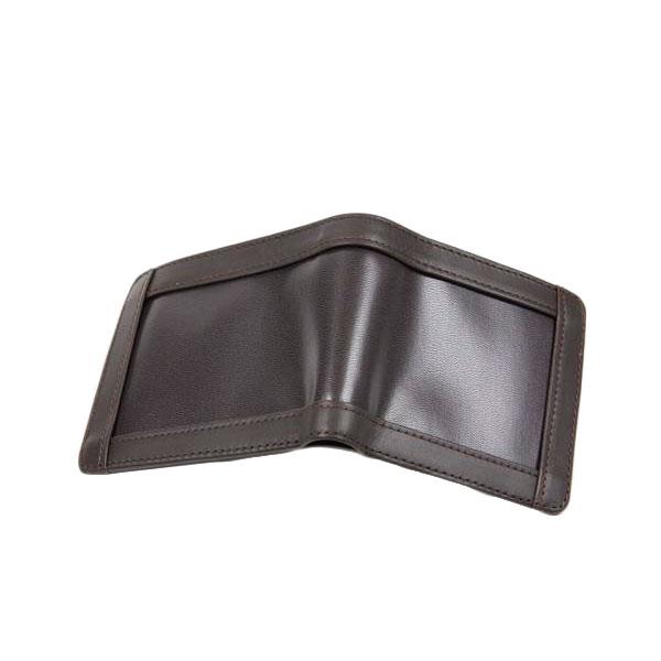クラフト社 レザークラフト用半製品 インセットタイプ 財布 札入 9×10.5cm 焦茶 4684-04