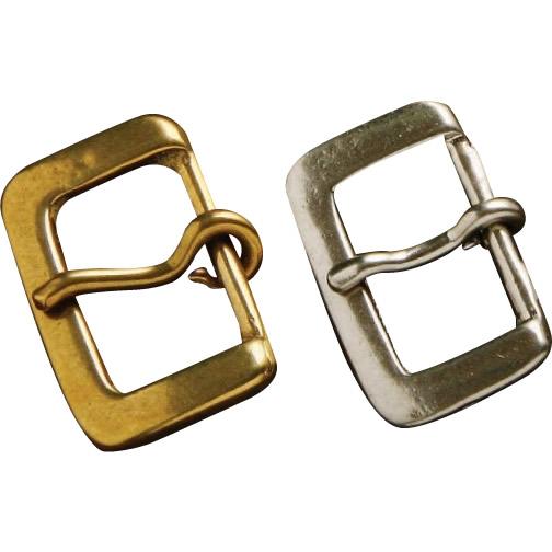 クラフト社 レザークラフト用金具 真鍮 口型バックル 5個セット 1690 真鍮