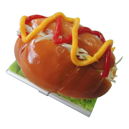 日本職人が作る 食品サンプル名刺ケース ホットドッグ IP-193