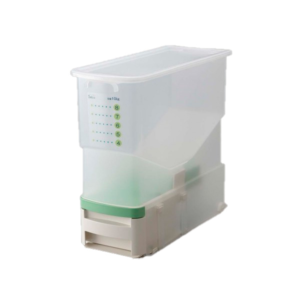 洗える計量米びつ ビッツ(無洗米対応) BRB-CG