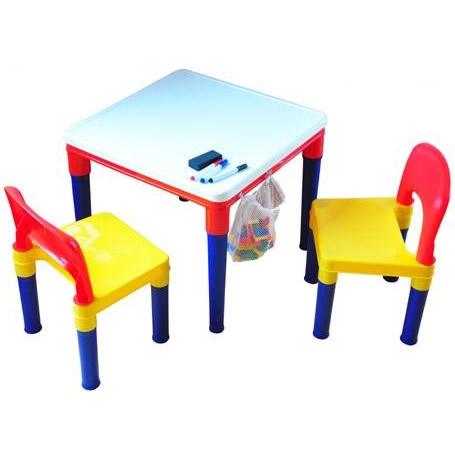 ブロックプレイ おえかきテーブル&チェア ♯8601-W3