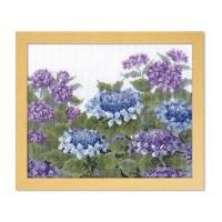 オリムパス オノエ・メグミ ししゅうキット 愛すべき花たち 紫陽花 7451