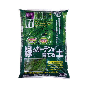 あかぎ園芸 緑のカーテンを育てる土 25L 3袋 (4939091352513)