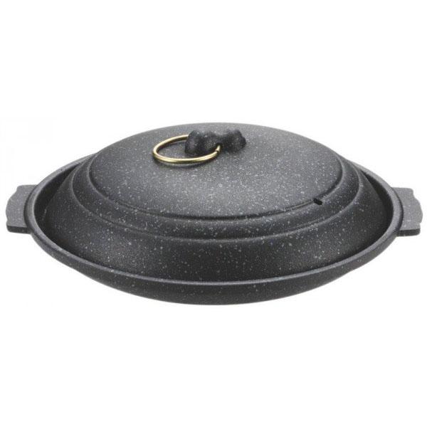 ストロングマーブル懐石 陶板焼17cm H-5366