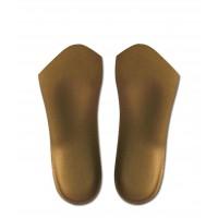 ヘブンリーインソール2 (靴用中敷き) 3/4ソール ブロンズ S