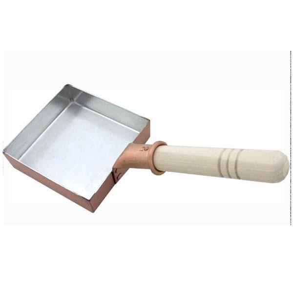 中村銅器製作所 銅製 卵焼き鍋 角型 12cm
