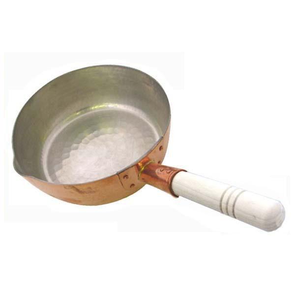 中村銅器製作所 銅製 行平鍋 18cm