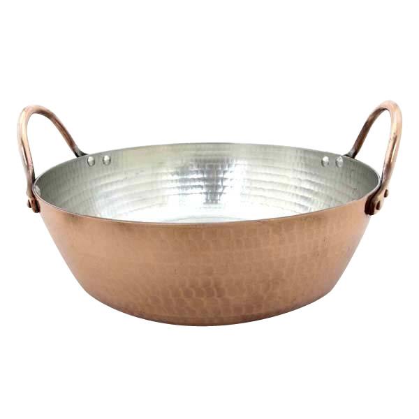 中村銅器製作所 銅製 天ぷら鍋 26cm