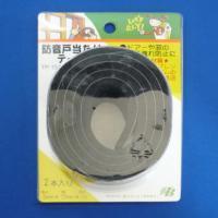 防音戸当たりテープ (2本入り5セット) TP-15黒