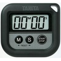 タニタ丸洗いタイマー100分計 TD376 ブラック