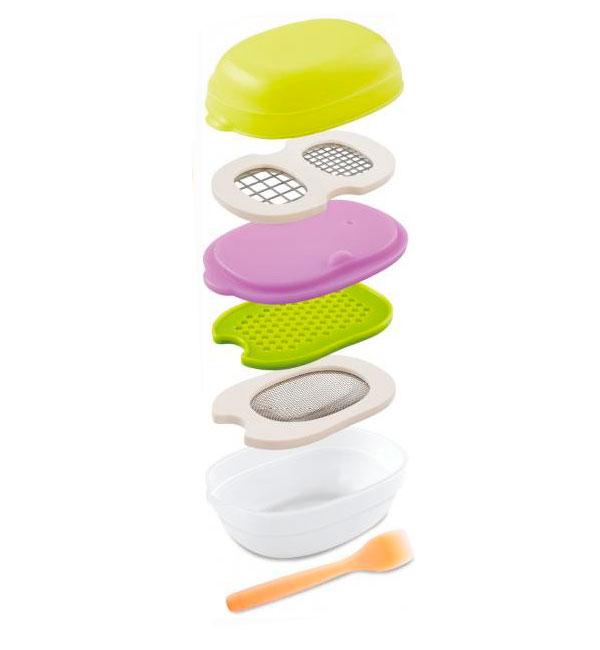 Combi(コンビ) ベビーレーベル 離乳食ナビゲート 調理セットC