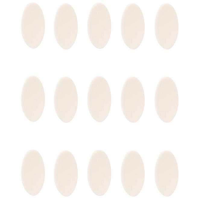 ソルボコーンパッド 足指用(薄型) 15ヶ入り オフホワイト 65035