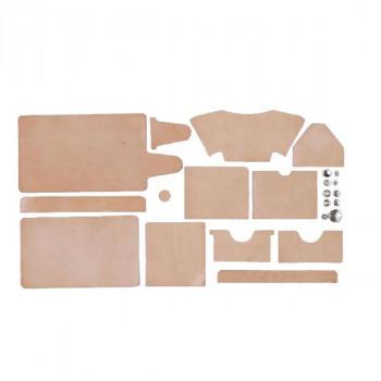 クラフト社 革キット 角型ウォレット (ナチュラル) 14369-01