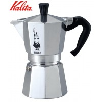 Kalita(カリタ) BIALETTIビアレッティ エスプレッソコーヒー器具 モカエキスプレス6 53005