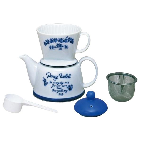 Kalita(カリタ) ドリップセット&ギフトセット 陶器製器具 ツーウェイドリップセットポエム 35075
